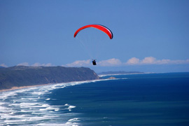 Paragliding in the Garden Route, South Africa
