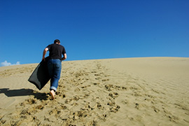 Sand Boarding in South Africa