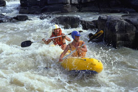 South Africa White Water Rafting