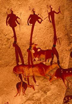 Rock Art at uKhahlamba Drakensberg Park