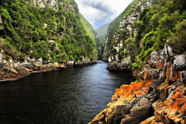 Storms River in the Tsitsikamma Region