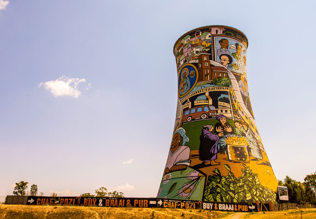 Beautiful gardens of the world - Gauteng Destinations Soweto Johannesburg