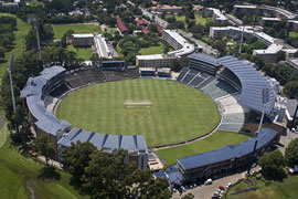 Aerial view of Wanderers, Gauteng