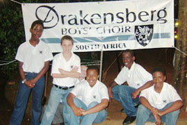 Drakenberg Boys Choir, Drakensberg