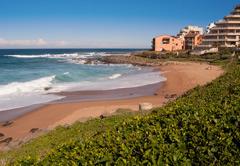 Willard Beach, Ballito, Kwazulu Natal, South Africa Stock