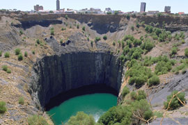 Kimberley, the capital of the Northern Cape