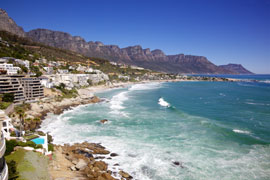 Cape Town's most famous beach, Clifton