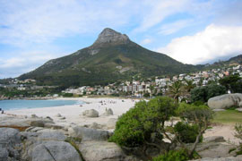 Camps Bay Beach on the Atlantic Seaboard