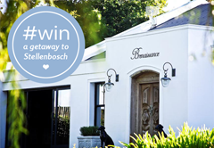 Win a getaway for 2 at Brenaissance Wine & Stud Estate