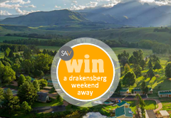 Win a weekend away for 2 in the Drakensberg
