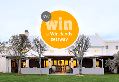 Win 2 nights in the Cape Winelands