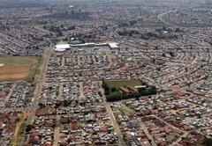 Soweto, Johannesburg, Sandton