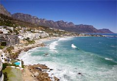 Honeymoon in  the Cape