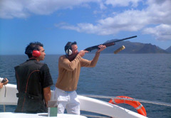 Clayshooting Cruise