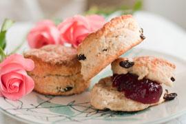 English Cuisine: Traditional Scones and Tea