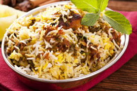 Indian Cuisine: Chicken Briyani