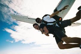 Skydive in Mossel Bay