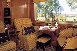 Luxury Train Travel on the The Blue Train