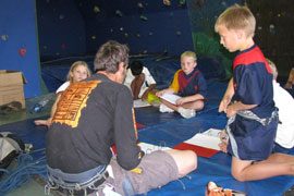 Theory Training at the Climbing Academy