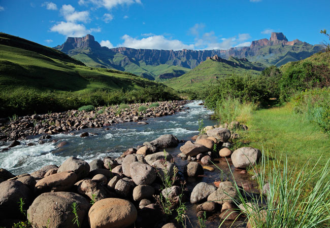 Tugela River Up the Tugela River (g...