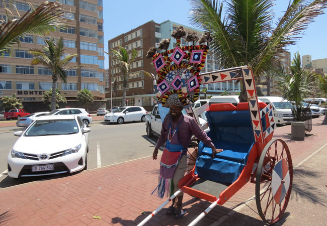 Rickshaw Ride Along The Beachfront