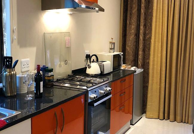 Orange Suite Kitchen