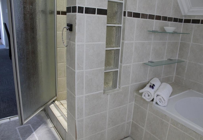 King Room with Shower and bath