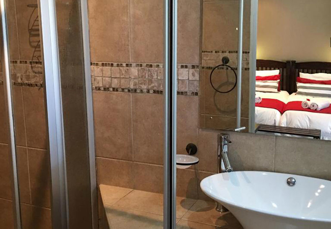 King Room with Bath and Shower
