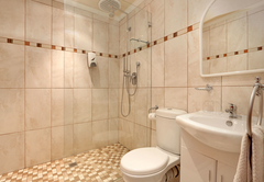 Double en-suite bathroom