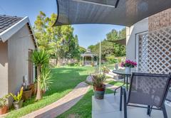Santina\'s private patio