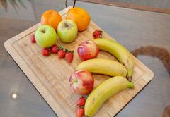 Fresh healthy fruit daily