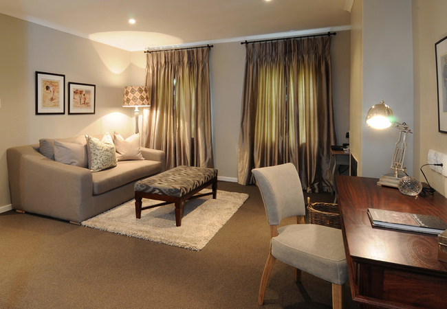 Upstairs Luxury Suite with View