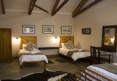 Gemsbok 2 single beds