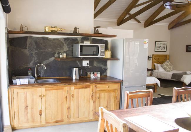 Gemsbok kitchenette