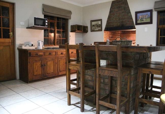 Eland kitchen area with indoor braai area