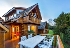 Luxury Wooden House