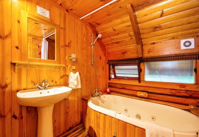 Individual Double Log Cabin