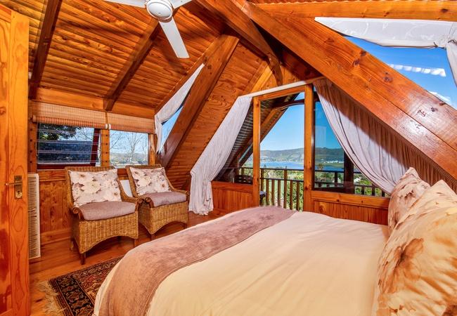 Double Storey Log Cabin