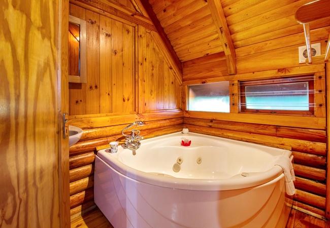 Semi-Detached Log Cabin