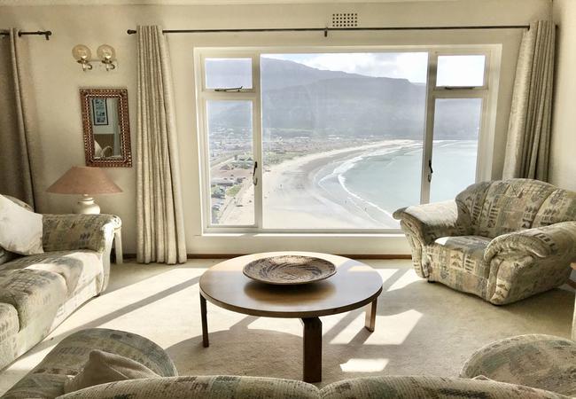Sun-lit lounge