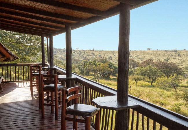 Main lodge - viewing deck