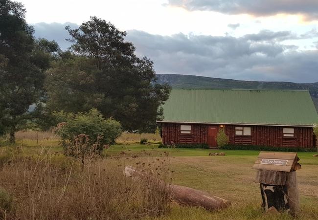 A log home