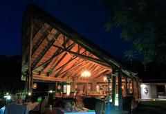 The Dining Area at AmaKhosi Safari Lodge