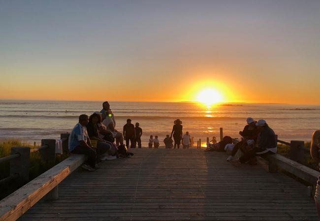 Sunset at Big Bay