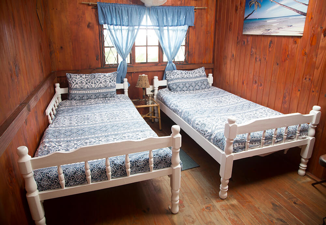 Budget Twin Wooden Cabin