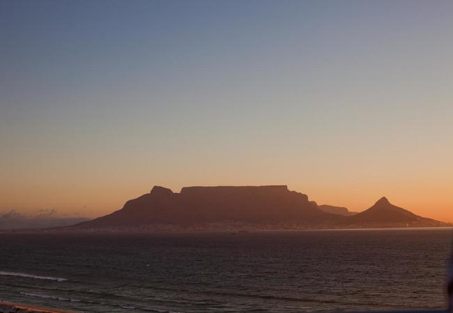 View towards Table Mountain