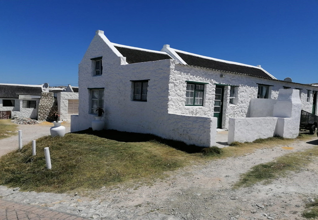 Arniston Cottage front view