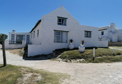 Arniston Cottage Side view