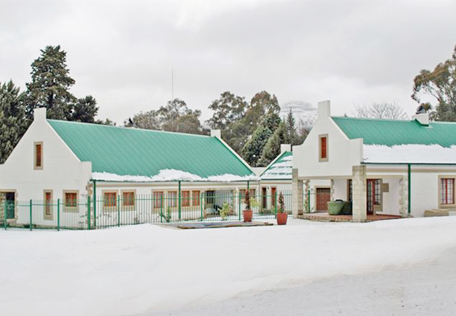 Ashbrook in the Snow
