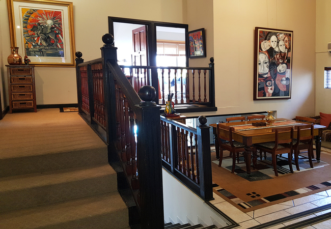 Lobby and Dining room
